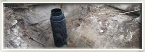 Izkop in priklop na kanalizacijski vod