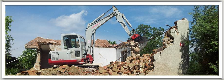 Izkopi in storitve z gradbeno mehanizacijo